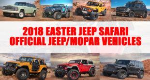 Easter Jeep Safari 2018