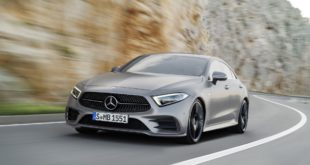 Mercedes CLS 2018 | Prova su strada in anteprima