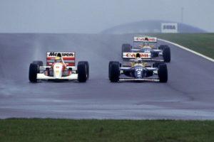 Senna a Donington