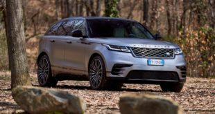 Range Rover Velar prova