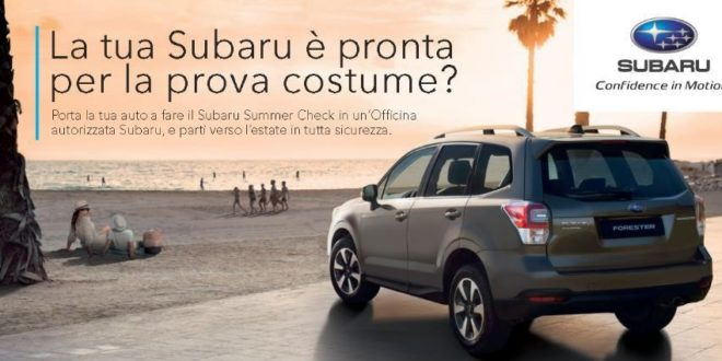 Subaru Summer Check 2018