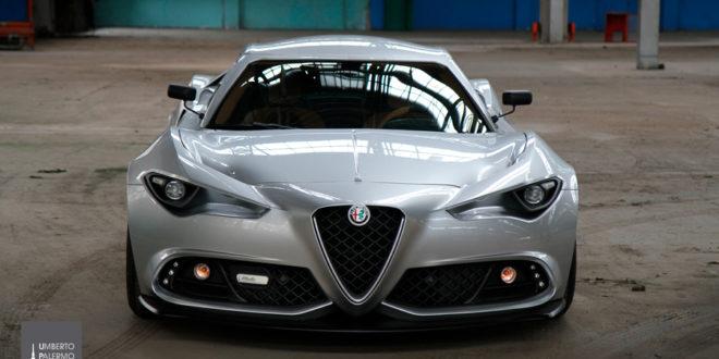 Alfa Romeo 4C Mole Costruzione Artiginale 001