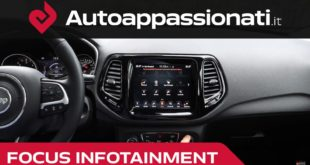 Jeep Compass Uconnect Focus Infotainment