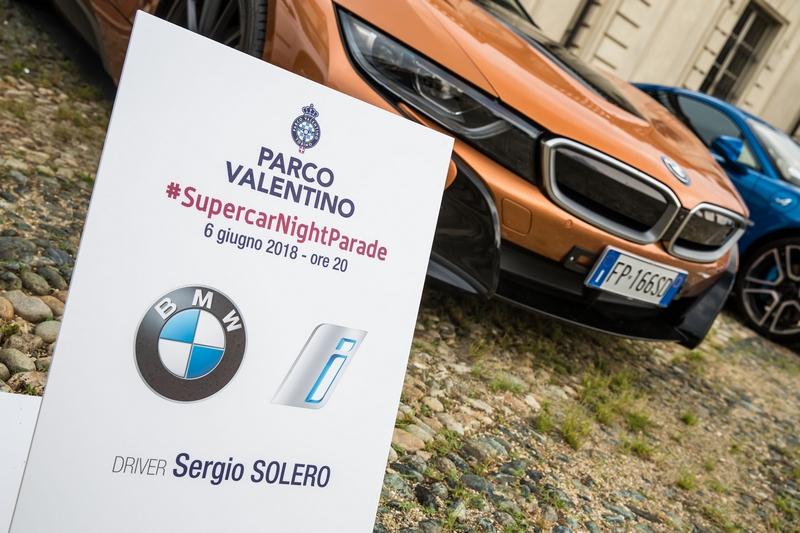 BMW al Parco Valentino 2018