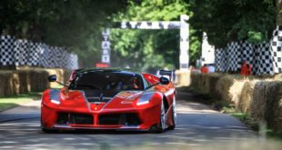 Ferrari a Goodwood