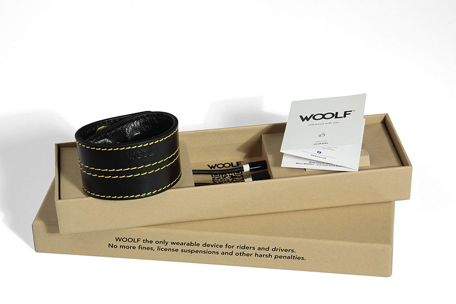 Woolf il bracciale anti autovelox