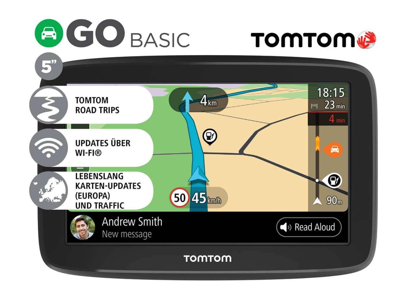 tomtom go basic l 39 entry level gi completo. Black Bedroom Furniture Sets. Home Design Ideas