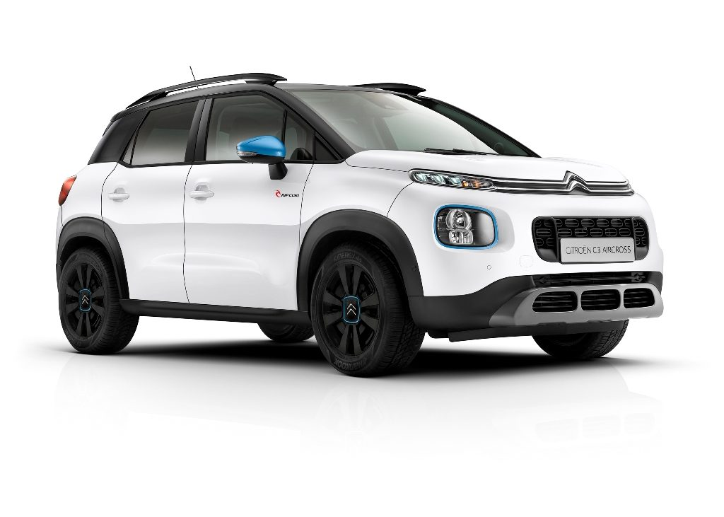 citroen c3 aircross rip curl la serie speciale anche suv. Black Bedroom Furniture Sets. Home Design Ideas