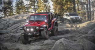 Jeep Wrangler Rubicon Trail