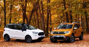 Dacia Duster VS Ford Ecosport | Prova comparata