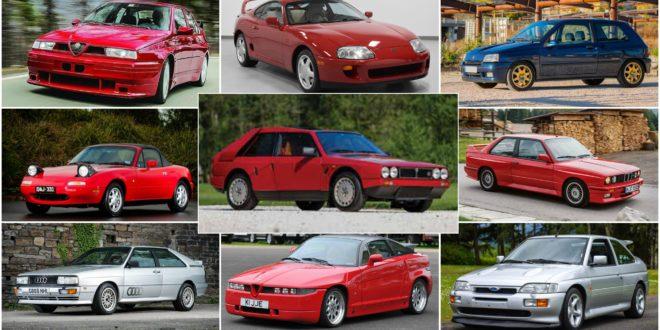 Auto storiche lista 2018