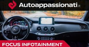 focus Infotainment kia Stinger
