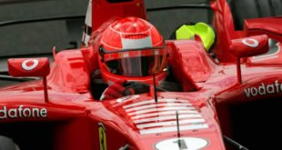 casco di Schumacher