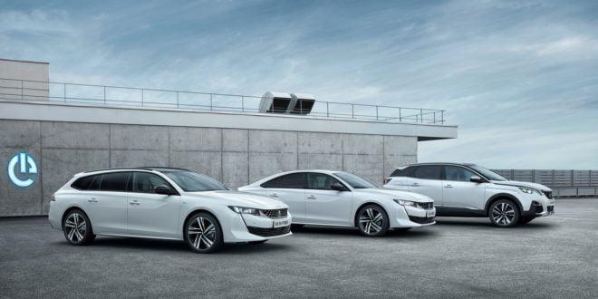 gamma ibrida Peugeot