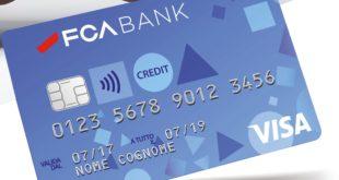 Carta di credito FCA Bank