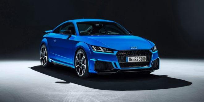 nuova Audi TT RS