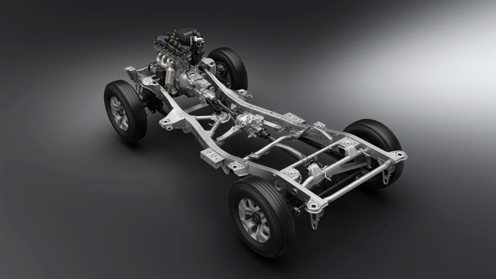 Suzuki Jimny tecnica