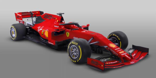 Livrea Ferrari SF90