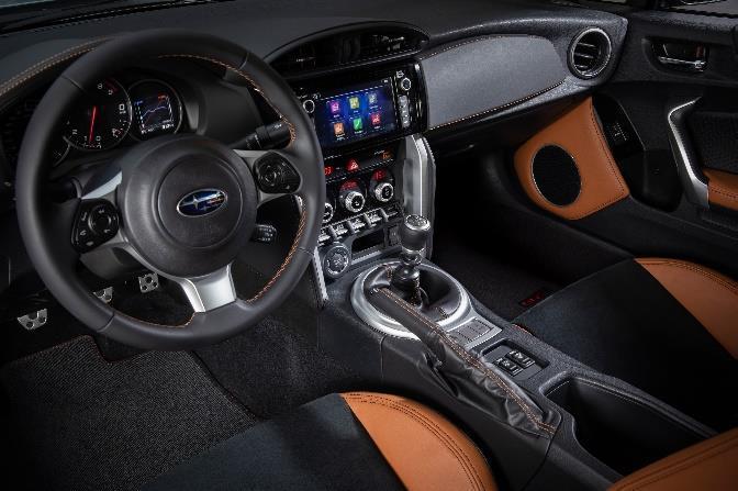 Interni Subaru BRZ Gunma Edition