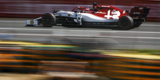 Alfa Romeo Racing a Melbourne