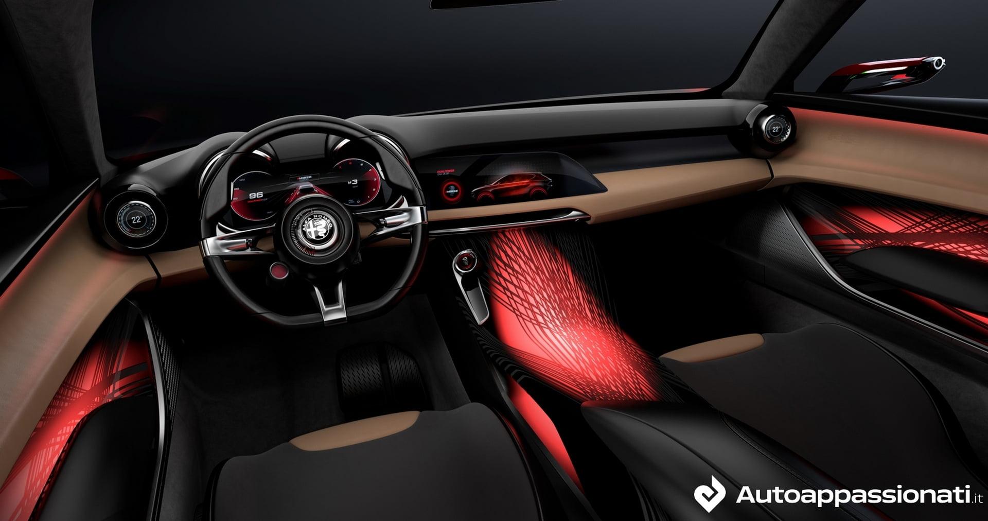 interni Alfa Romeo Tonale