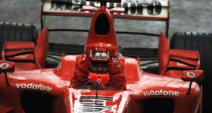 ultima vittoria di Schumacher in Ferrari