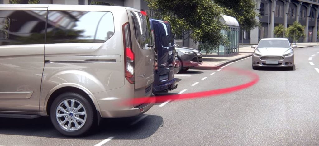 Ford VAN ADAS sicurezza