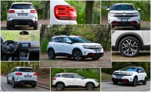 Citroen C5 Aircross collage bianca