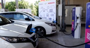 Vehicle to Grid Nissan Leaf