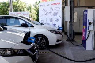 Vehicle to Grid Nissan Leaf