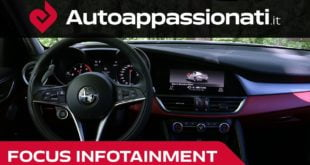 Alfa Romeo Giulia infotainment