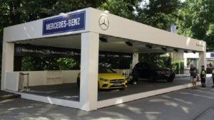 Mercedes a Parco Valentino 2019