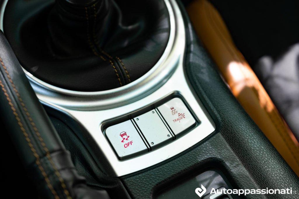 Subaru BRZ Gunma Edition - track mode