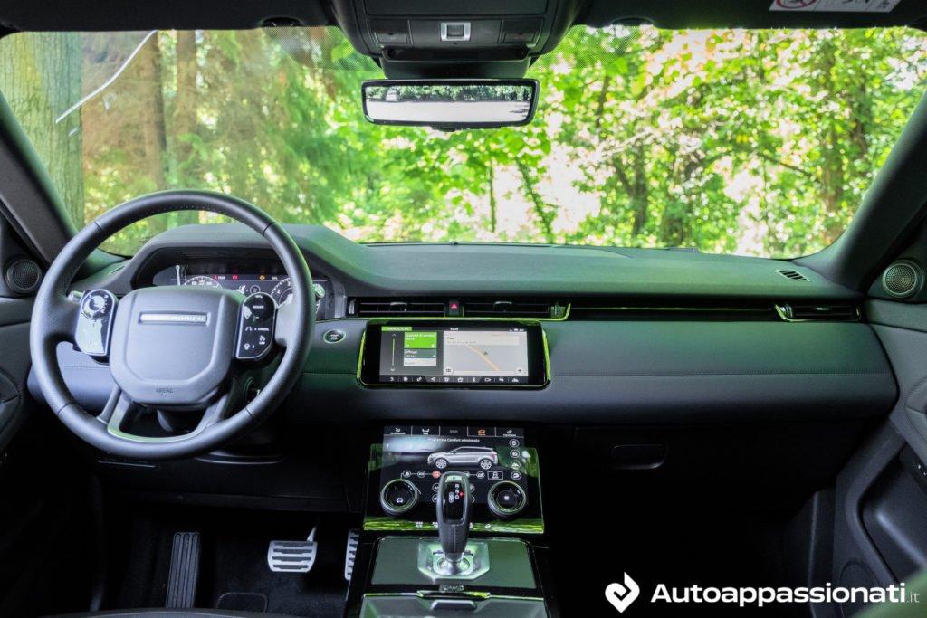 Range Rover Evoque interni
