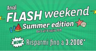 Flash Weekend Arval Italia