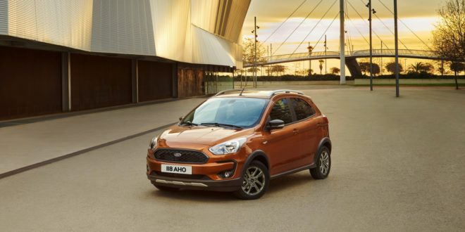 Ford Ka+ Active orange