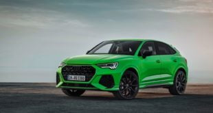 Audi RS Q3 Sportback verde Kyalami