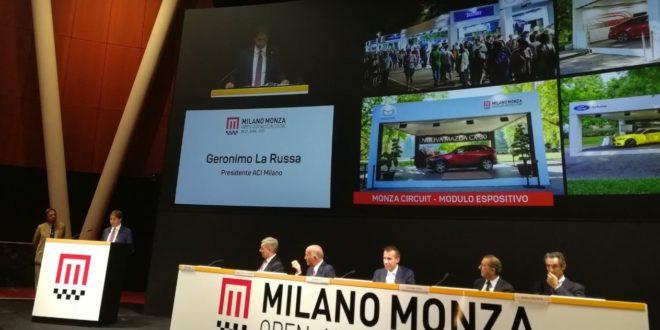 Milano Monza Open Air Motor Show 2020 presentazione sala