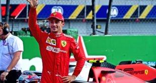Leclerc Ferrari Monza 2019