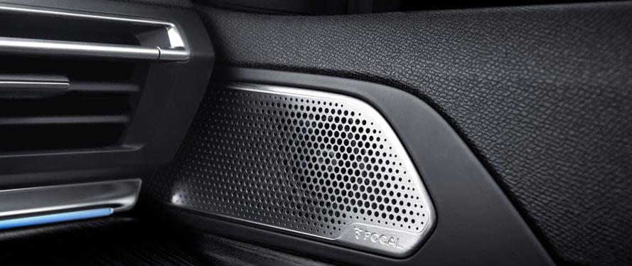 impianto audio focal della peugeot 508