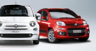 Fiat 500 e Panda Mild Hybrid
