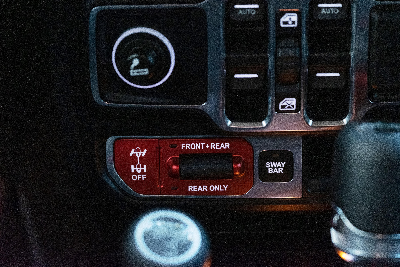 Jeep Wrangler Rubicon sway bar - barra antirollio - blocco differenziali