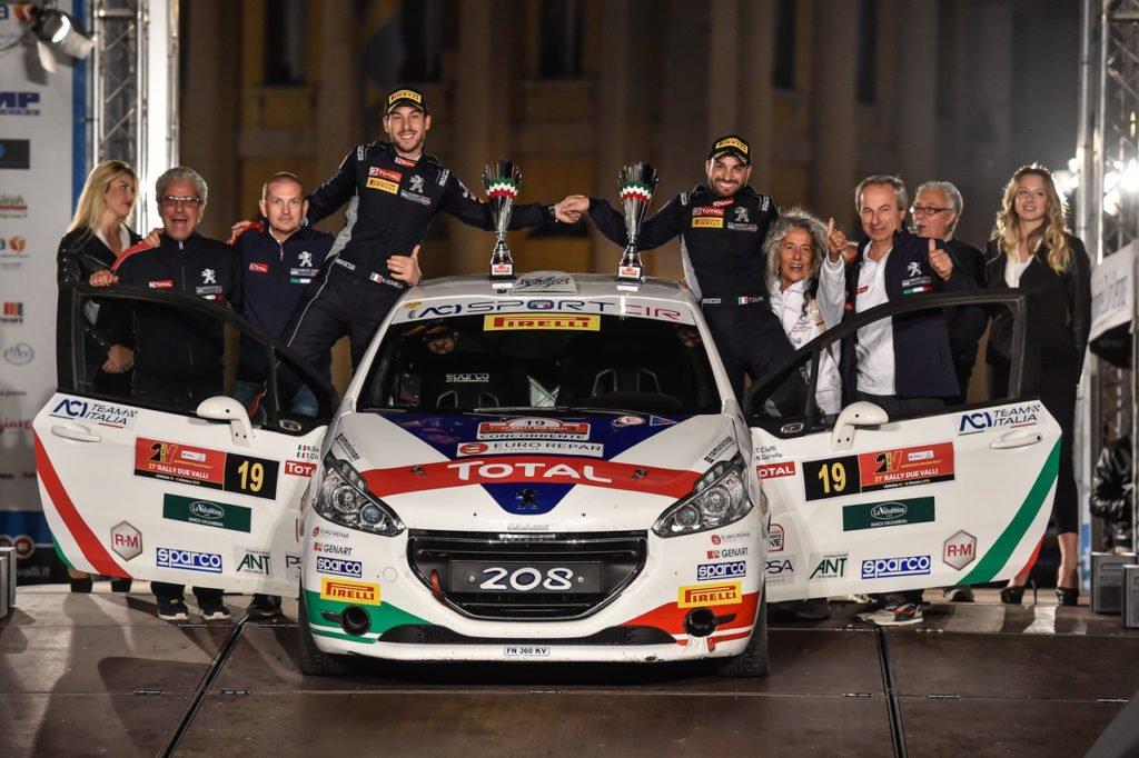 Ciuffi-Gonella, campioni rally italiano due ruote motrici 2019