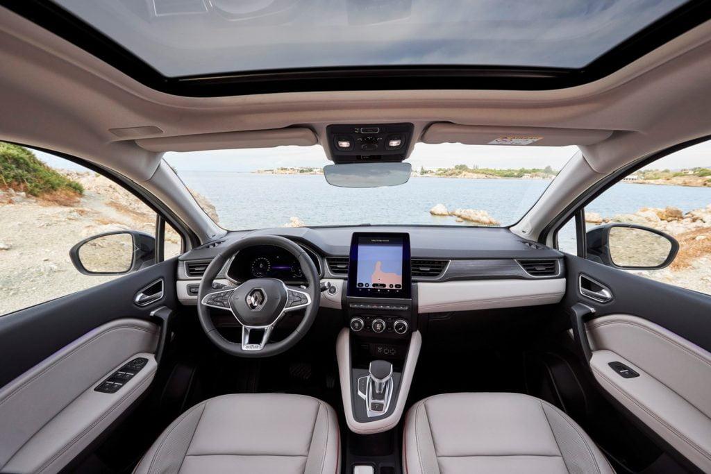 Interni Renault Captur 2019