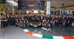 14.022° Lamborghini Huracan prodotta