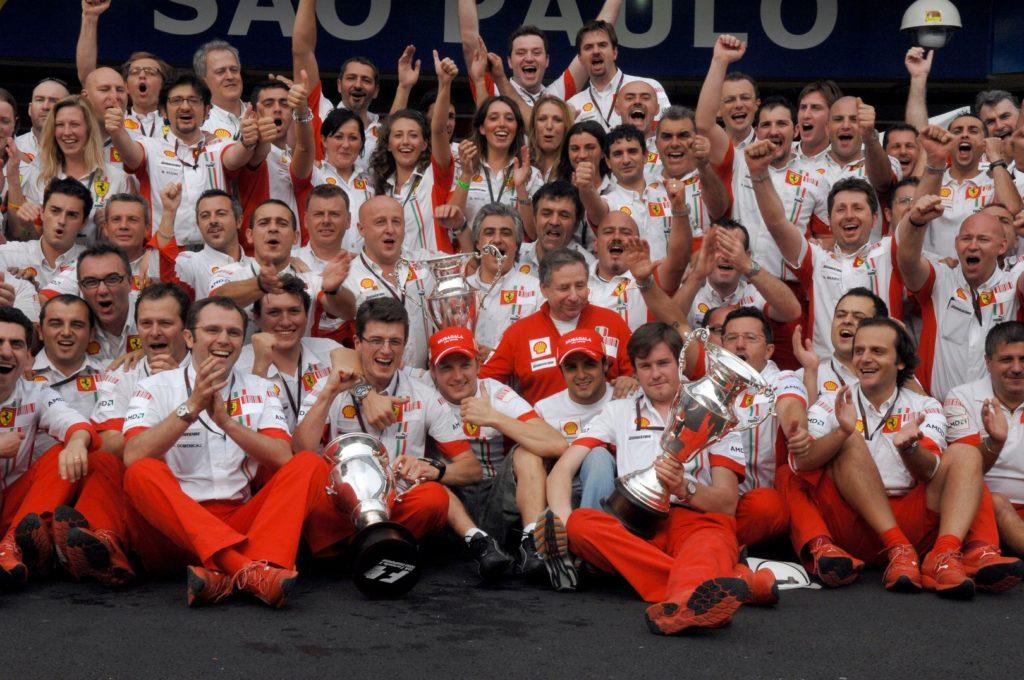 ultimo titolo mondiale della Ferrari