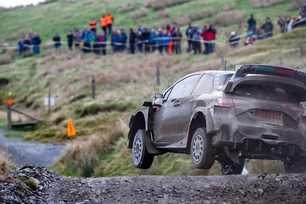 Ott Tanak - Rally del Galles 2019