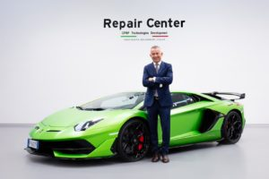 materiali compositi Lamborghini