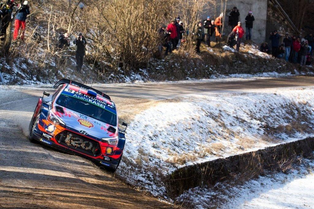 Hyundai i20 WRC Rally di Montecarlo 2020