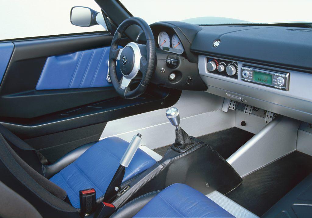 Interni Opel Speedster